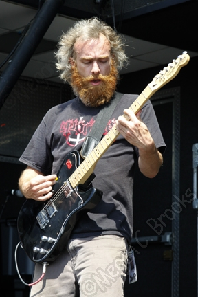 Red Fang - July 31, 2011 - Rockstar Mayhem Festival - Susquehanna Bank Center - copyright Megan C. Brooks