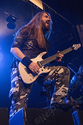 Sabaton - April 20, 2017 - The Trocadero - Philadelphia PA - copyright Megan C. Brooks